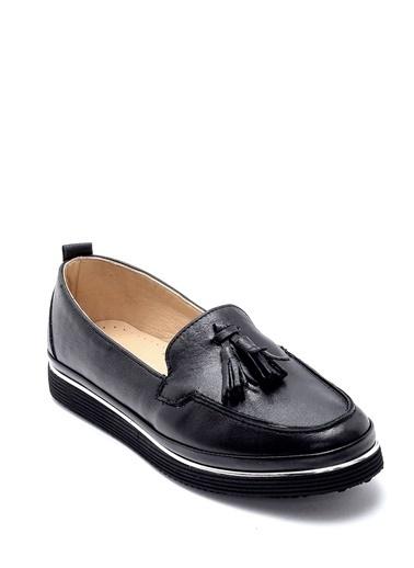 Derimod Kadın Loafer (5004) Casual Siyah